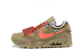 nike air max 90 off white virgil abloh raffle desert ore